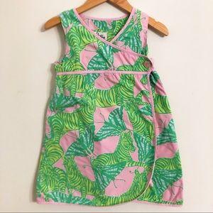 Lilly Pulitzer Girls wrap dress
